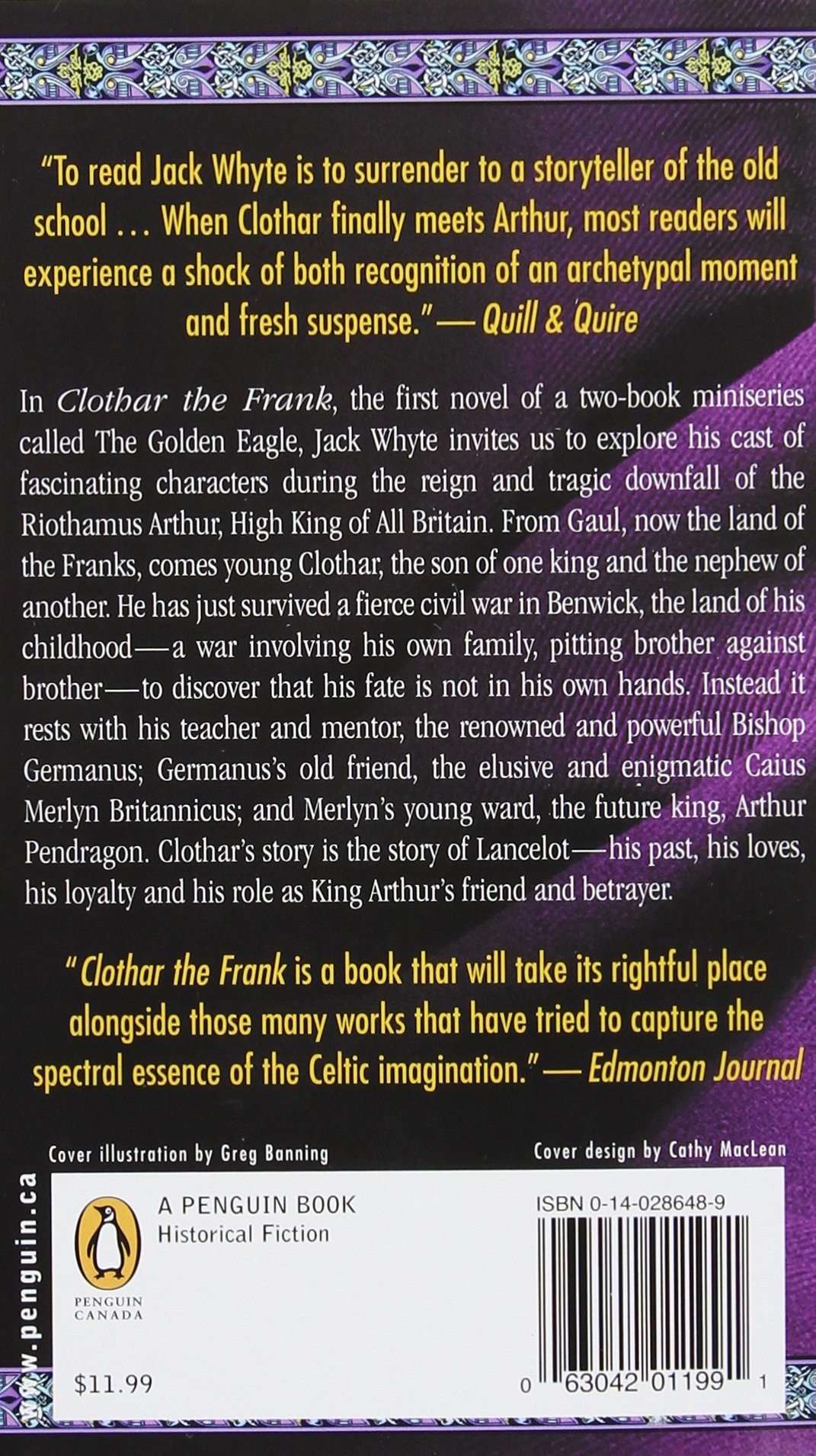 Clothar The Frank (the Camulod Chronicles, Book 8): Jack Whyte:  9780140286489: Amazon: Books