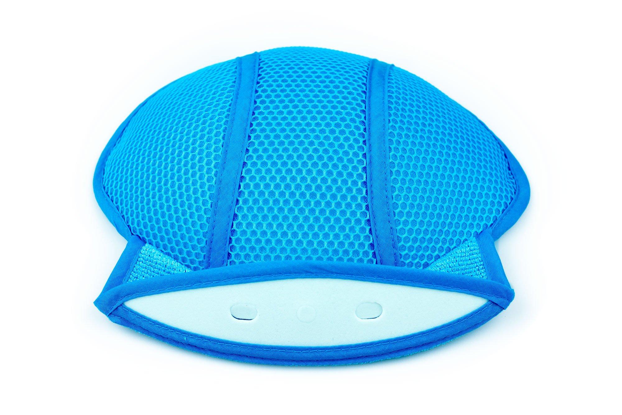 MegaTrue 3PCK Hard Hat 3D Air Mesh Insert Cooling Pad (Microfiber) by Cooling gear (Image #3)
