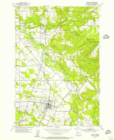 Amazon Com Yellowmaps Molalla Or Topo Map 1 24000 Scale