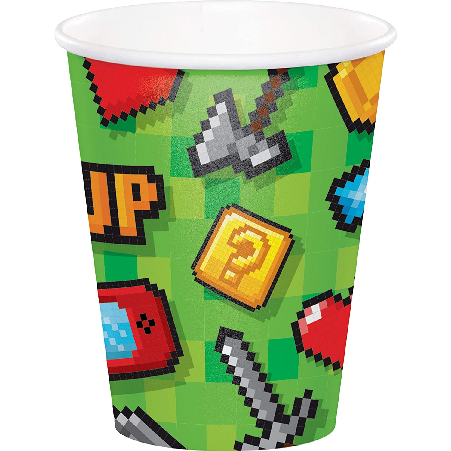 Video Game Party Cups 24 ct
