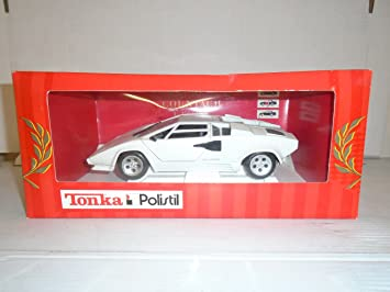 Buy Tonka Polistil 1 16 Scale Lamborghini Countach White Die Cast