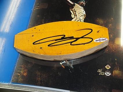 378e4186d2f3b LeBron James Hand Signed Auto St Vincent Original Floor Curve ...