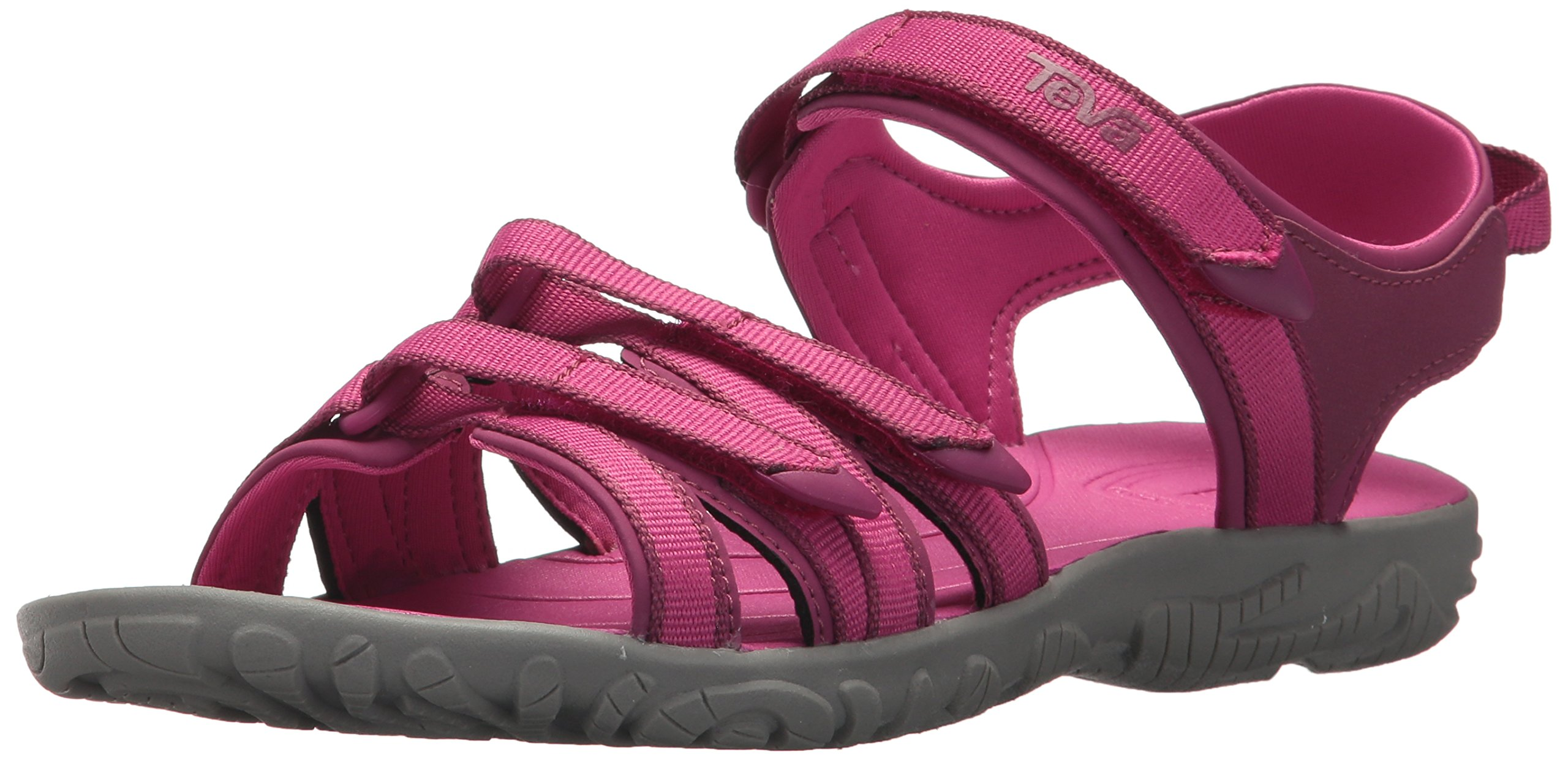 Teva Girls' Y Tirra Sport Sandal, Raspberry Rose, 7 M US Big Kid