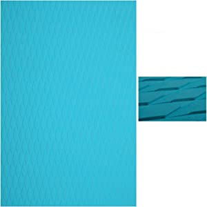 Abahub Non-Slip Traction Pad Deck Grip Mat 30in x 20in Trimmable EVA Sheet 3M Adhesive for Boat Kayak Skimboard Surfboard SUP Black/Blue/Gray/Green/Orange/Navy Blue/White