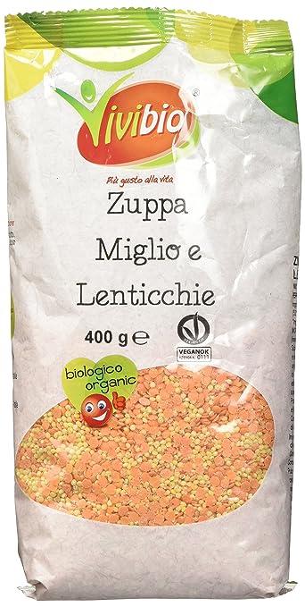 4 opinioni per Vivibio Zuppa di Miglio e Lenticchie- 400 gr