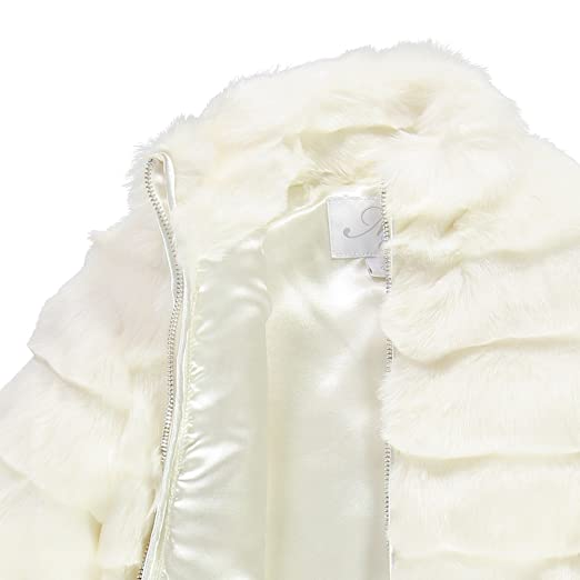 BRUMS ECO PELLICCIOTTO BAMBINA 173 MIA (14 ANNI, BIANCO): Amazon.it:  Abbigliamento