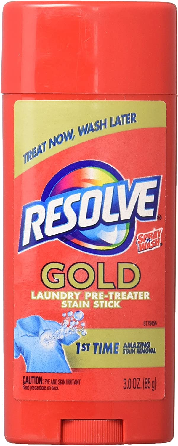 Resolve Pre Treat Stain Stick - 3 oz