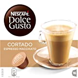 Nescafé Dolce Gusto Cortado Espresso Macchiato 16 Capsules