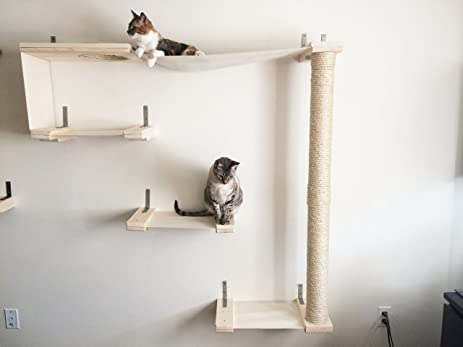 Nice CatastrophiCreations Sky Track   Cat Hammock U0026 Climbing Activity Center    Handcrafted Wall Mounted Cat
