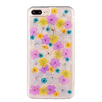 Amazon pretty flower case for iphone 7 plus tipfly iphone 8 pretty flower case for iphone 7 plus tipfly iphone 8 plus real pressed dry flowers mightylinksfo