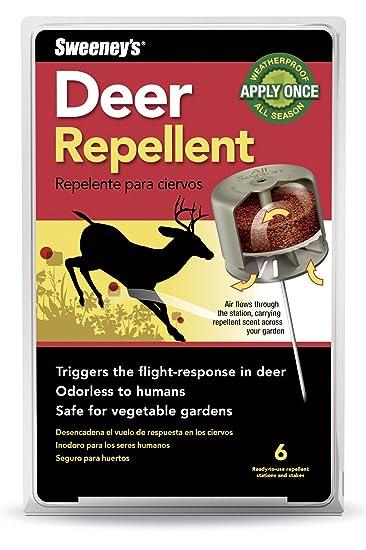 Amazoncom Sweeneys Deer Repellent 6 Bait Stations S56006 not