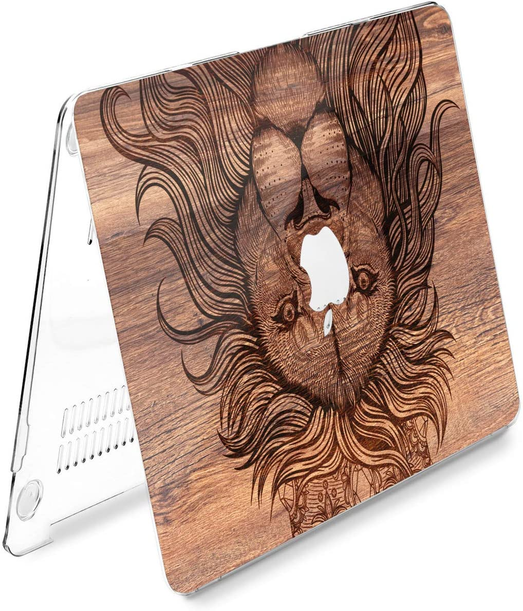 Cavka Hard Shell Case for Apple MacBook Pro 13 2019 15 2018 Air 13 2020 Retina 2015 Mac 11 Mac 12 Nature Tree Design Forest Wood Mountain Protective Laptop Grain Texture New Cover Print Plastic