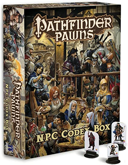 Pathfinder Roleplaying Game: NPC Codex Box: Bulmahn, Jason, Staff, Paizo: Amazon.es: Juguetes y juegos