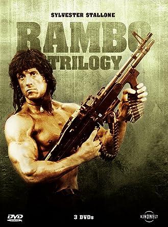 Rambo Trilogy Uncut, Special Edition, 3 Discs Alemania DVD: Amazon.es: Sylvester Stallone, Richard Crenna, Ted Kotcheff, George Pan Cosmatos, Peter MacDonald, Sylvester Stallone, Richard Crenna: Cine y Series TV