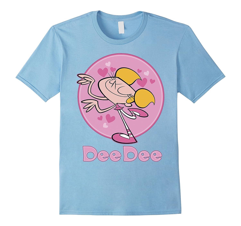 cn dexters laboratory dee dee pink badge graphic t shirt u2013 zeze store