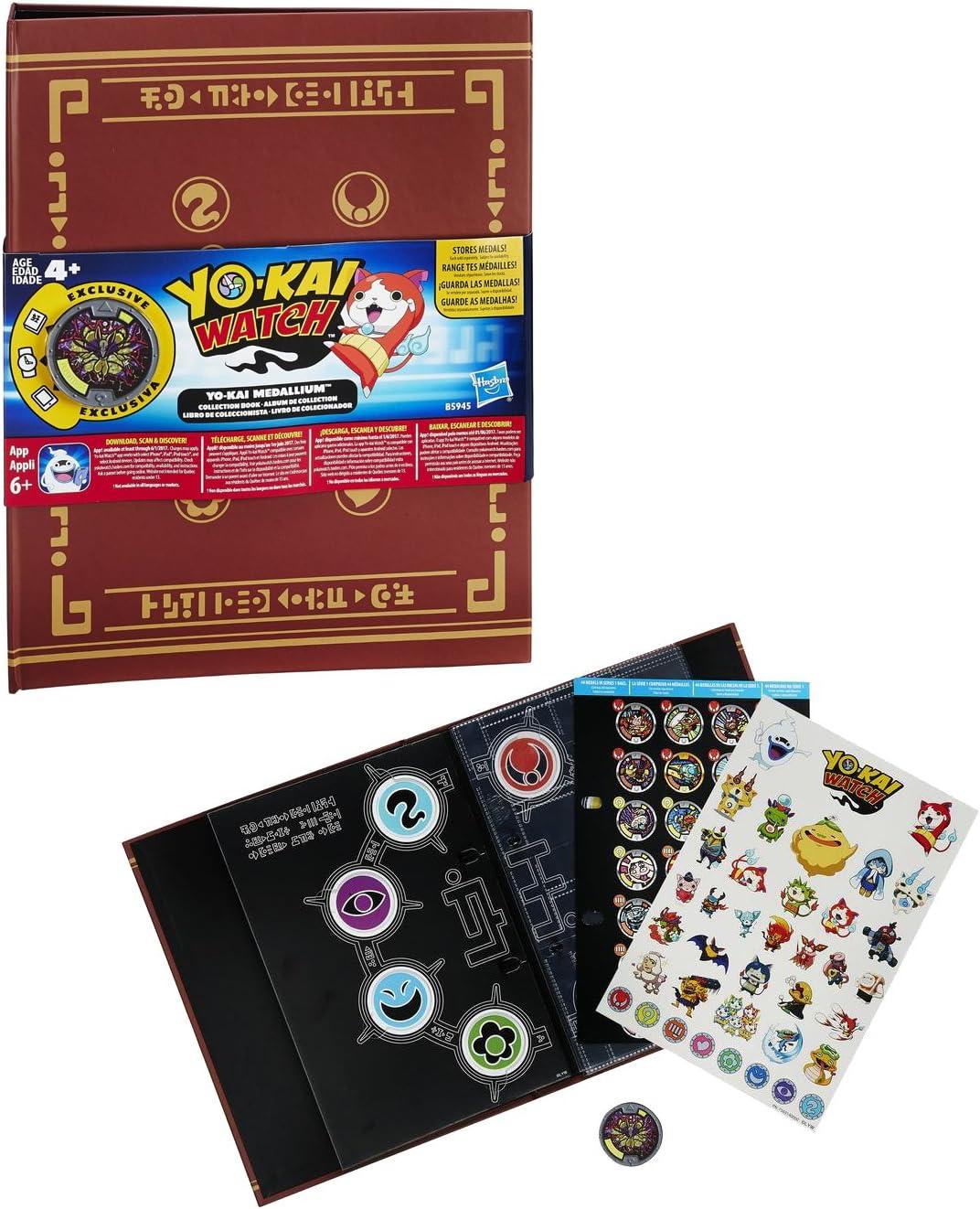 Yokai - Álbum de colección medallium (Hasbro B5945EQ0) , color, modelo surtido