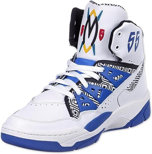 adidas Mutombo Chaussures Mode Sneakers Homme Blanc Bleu Noir