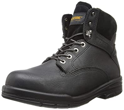 734ad21e95a Wolverine Men's SR Dura Shock DA 6 Inch Steel Toe EH Work Boot