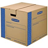 Amazon Price History for:Bankers Box SmoothMove Prime Moving Boxes, Tape-Free and Fast-Fold Assembly, Medium, 18 x 18 x 16 Inches, 8 Pack (0062801)