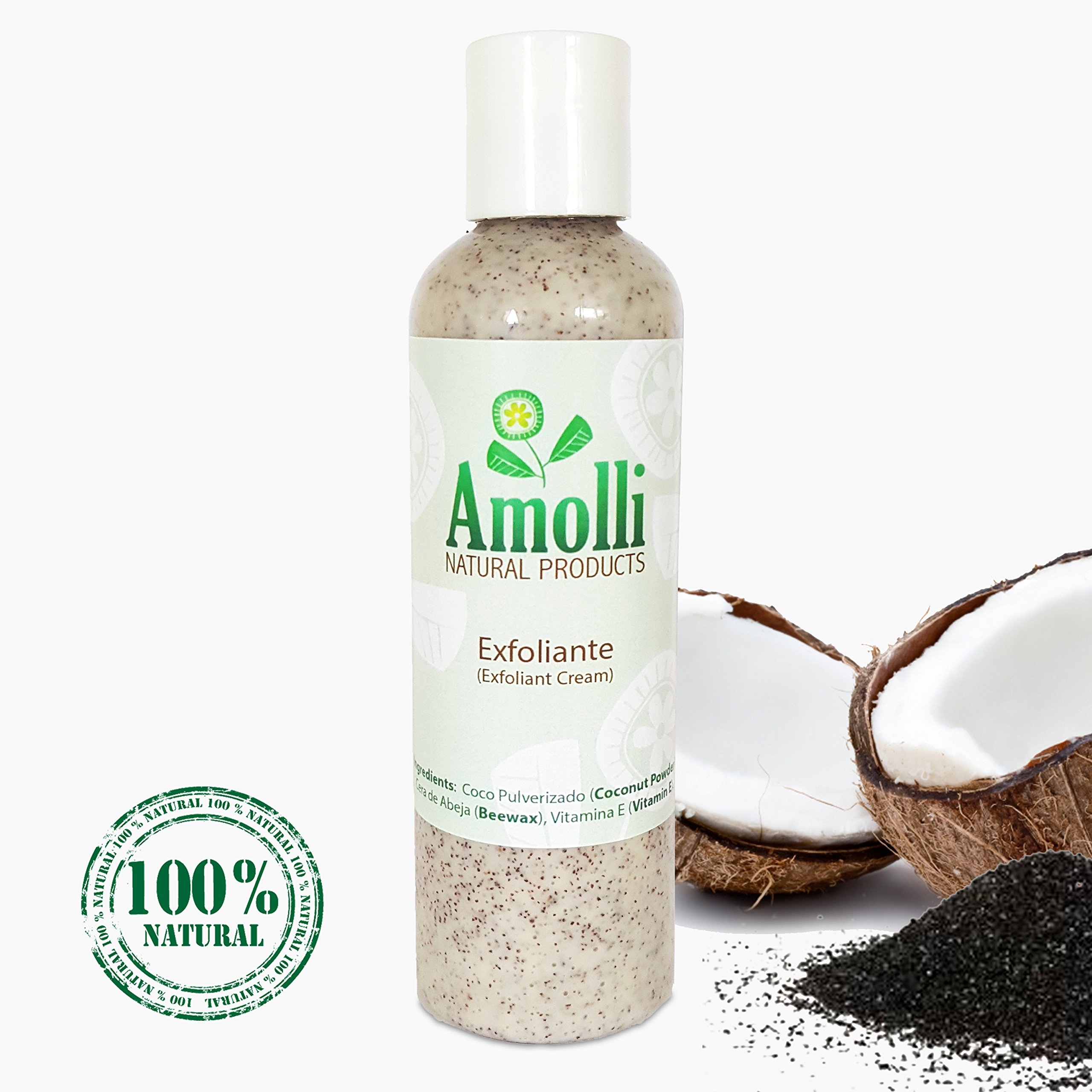 Pulverized Coconut Exfoliant Lotion by Amolli Natural Products