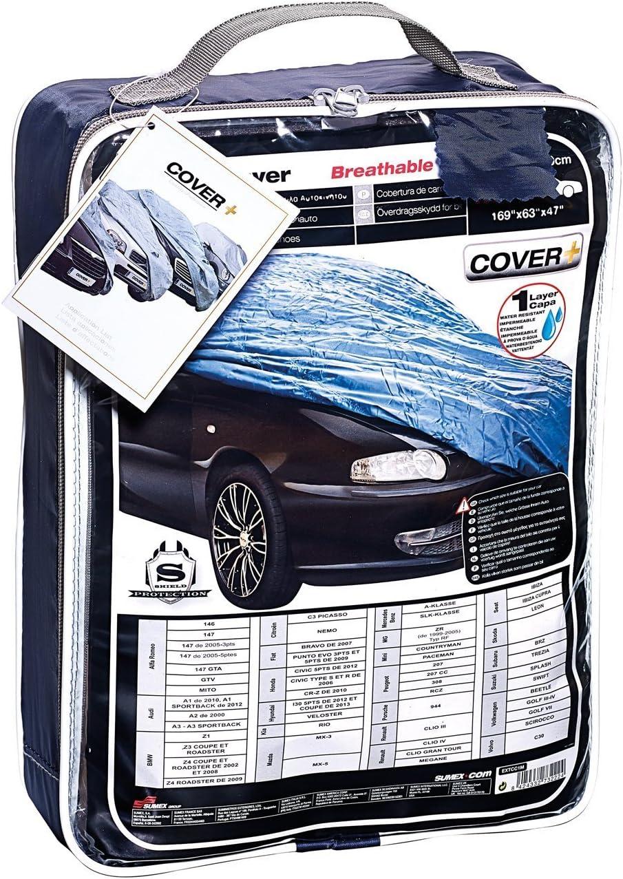 Dirt /& Snow Protection Breathable Blue Car Cover /Benz Slk Rain Mercedes Sun