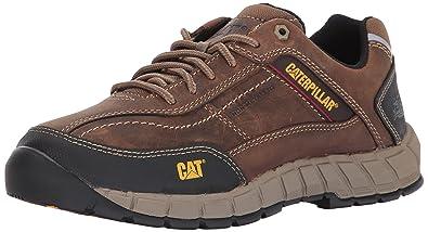 b26ce6e6 Amazon.com | Caterpillar Men's Streamline Leather / Dark Beige Work ...