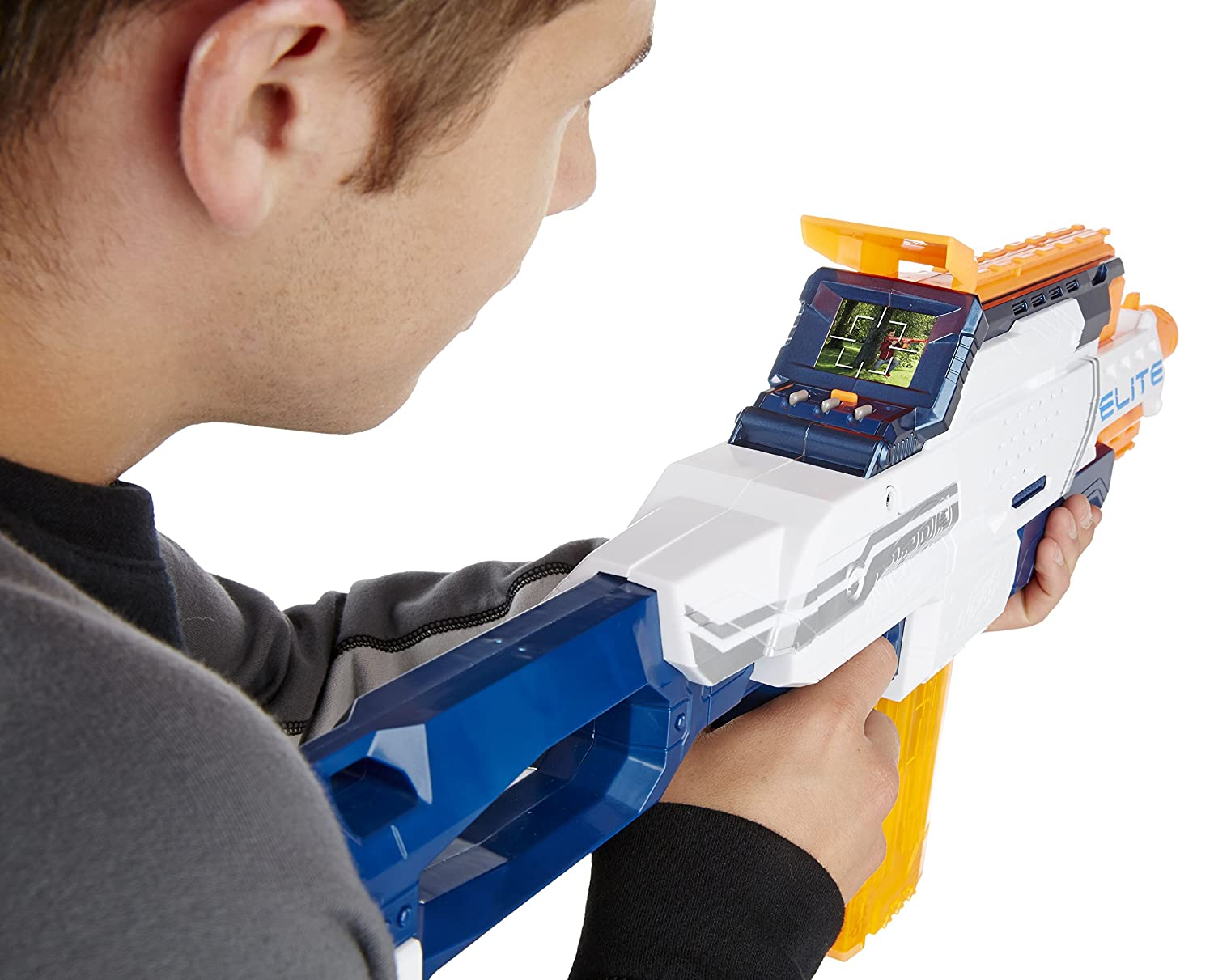 Amazon.com: Nerf N-Strike Elite Nerfcam ECS-12 Blaster by Hasbro: Toys &  Games