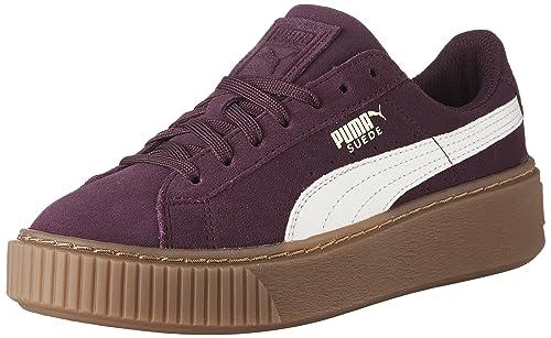 00febdc0191 PUMA Girl s Suede Platform SNK Jr Sneakers