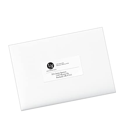 Amazon Avery Ecofriendly Mailing Labels For Laser And Ink Jet
