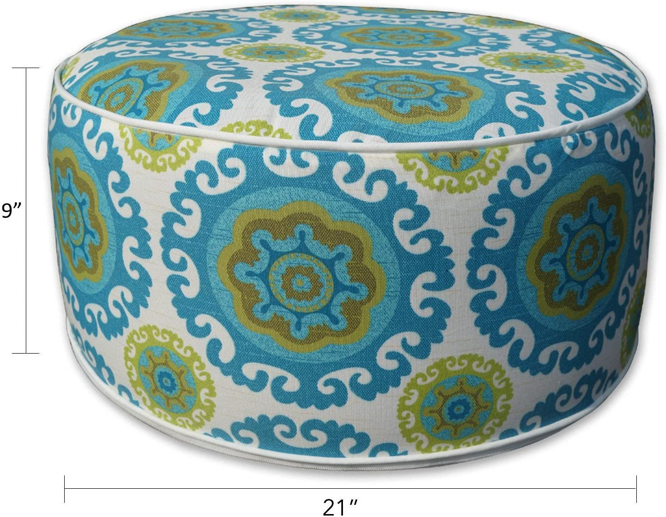 Inflatable Stool Ottoman for Indoors Outdoors Kids Adults Camping Home Use