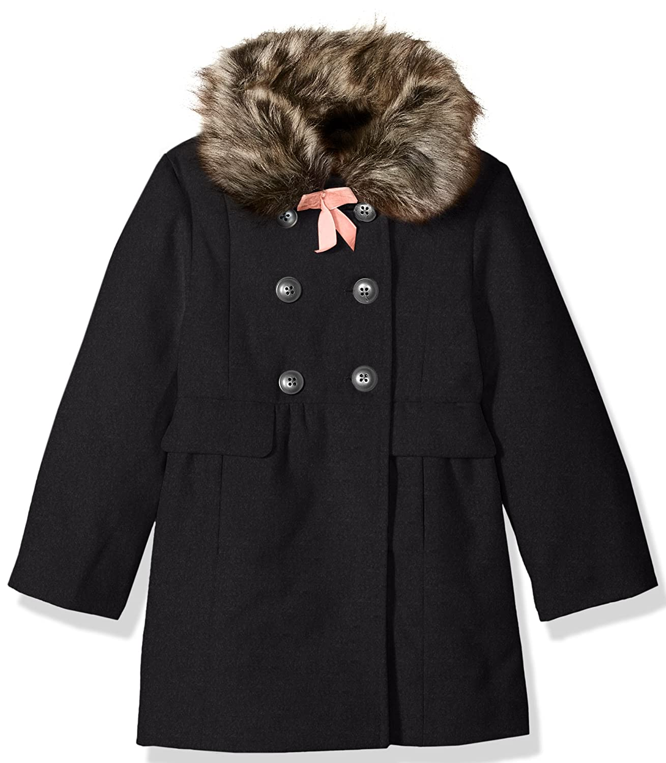 Fancy Jessica Simpson girls Sweet Faux Wool Winter Jacket Coat ...