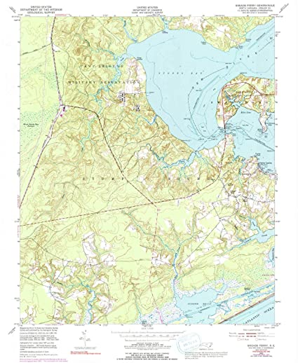 Amazon Com Yellowmaps Sneads Ferry Nc Topo Map 1 24000 Scale 7 5