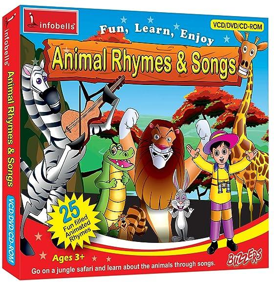 Amazon in: Buy Infobells Animal Rhymes & Songs DVD, Blu-ray