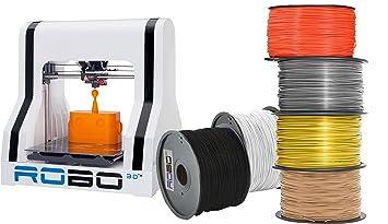 ROBO 3D AMZBUNDLE6 R1 Plus 10x9x8 A1-0006-000 impresora ...