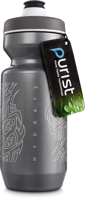 Peakline Sports - Purist 22 oz Bike Water Bottle by Specialized Bikes (Watergate Cap)