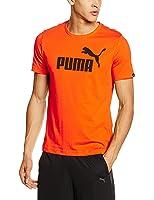 Puma Mens T-shirt,Orange