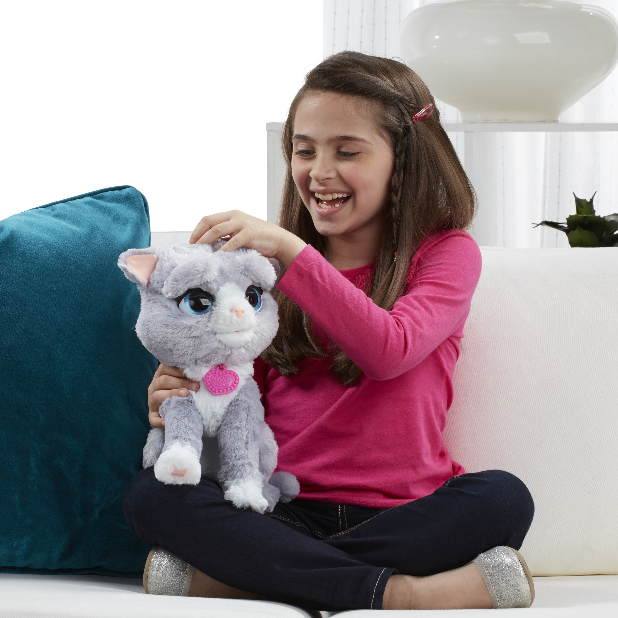 FurReal B5936AF1 Bootsie Interactive Plush Kitty Toy, Ages 4 & Up by FurReal (Image #9)