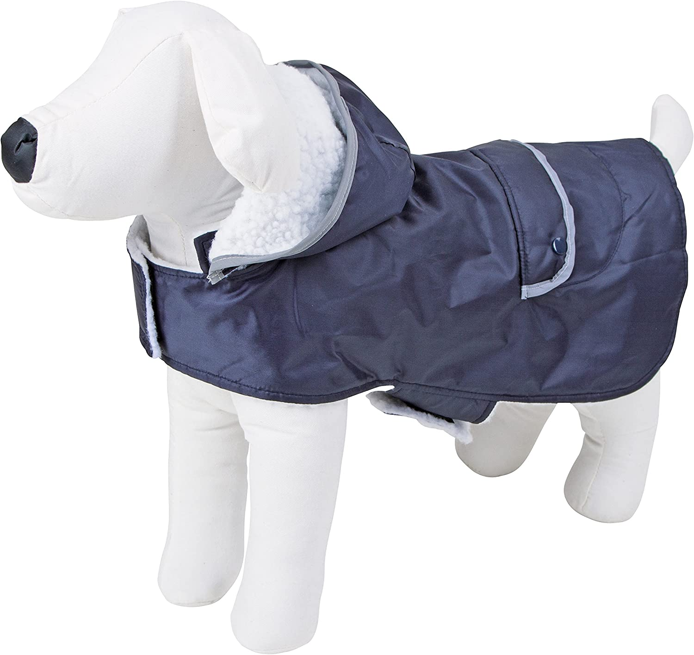 Abrigo para perros TEDDY 48 cm, circunferencia de cintura 53-68 cm
