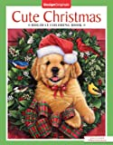 Cute Christmas Holiday Coloring Book (Design Originals) 32 Kittens, Puppies, and Other Critters in One-Side-Only Designs on High-Quality Extra-Thick Perforated Pages with Inspiring Christmas Quotes