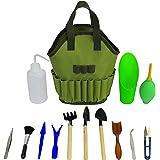 Succulent Kit Organizer Bag Gardening Tool Set | Terrarium Supplies Mini Succulent Garden Tool Kit | Heavy Duty Succulent Bon