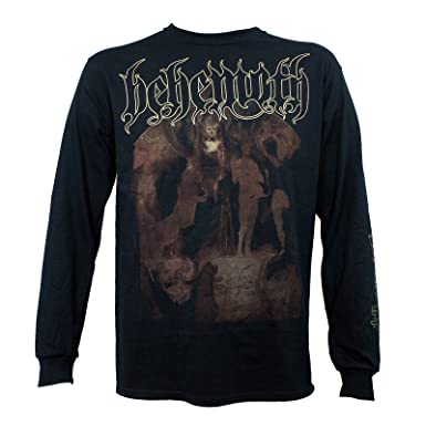 b70675bac King s Road Behemoth Band The Satanist Album Cover Long Sleeve T ...