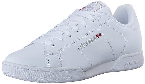 2494be68528 Reebok NPC II, Zapatillas de Tenis para Hombre, Blanco (White/Lt Grey), 47  EU: Amazon.es: Zapatos y complementos