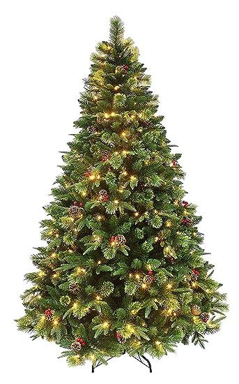 Christmas Stuff.Holiday Stuff Decorated True Nature Beauty Pine Pre Lit Christmas Tree 6ft Prelit