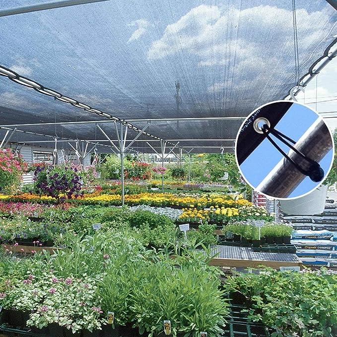 35% -40% Protección Solar Sombrilla Negro, Sombrilla, Sombrilla, Jardín Ligero Y Duradero, Flor, Planta, Invernadero, Granero, Perrera, Flores, Terraza, ...
