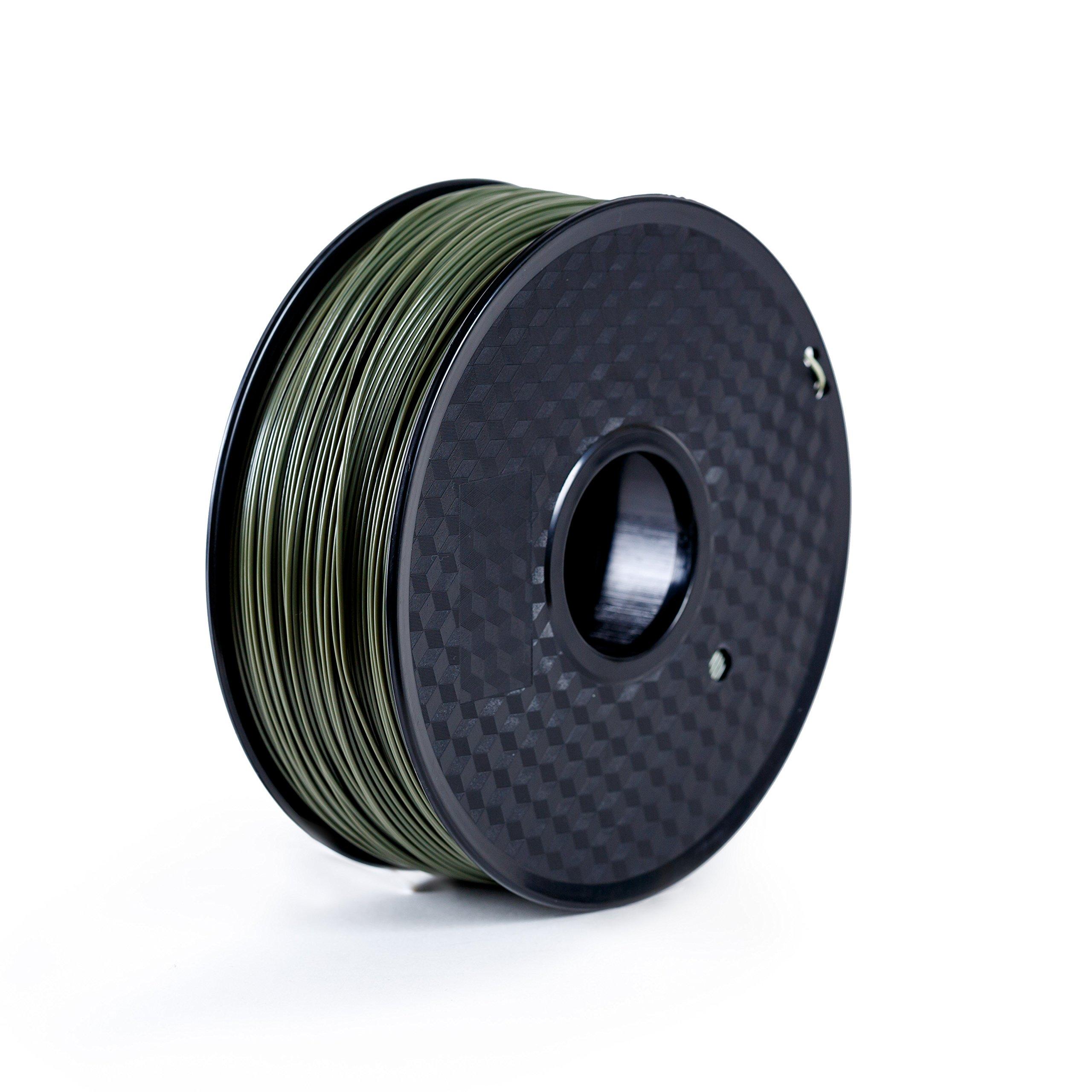 Paramount 3D PLA (PANTONE Military Green 7764C) 1.75mm 1kg Filament [OGRL60037764C]