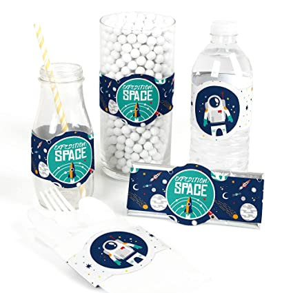 Amazon Com Blast Off To Outer Space Diy Party Supplies