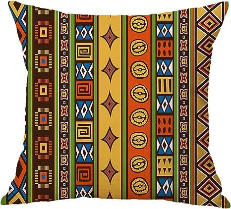 Imagen deFunda De Almohada Ropa Coche Sofá Oficina Sala De Estar Cojines Cubierta (Fundas De Cojín Set De 2 Piezas),C
