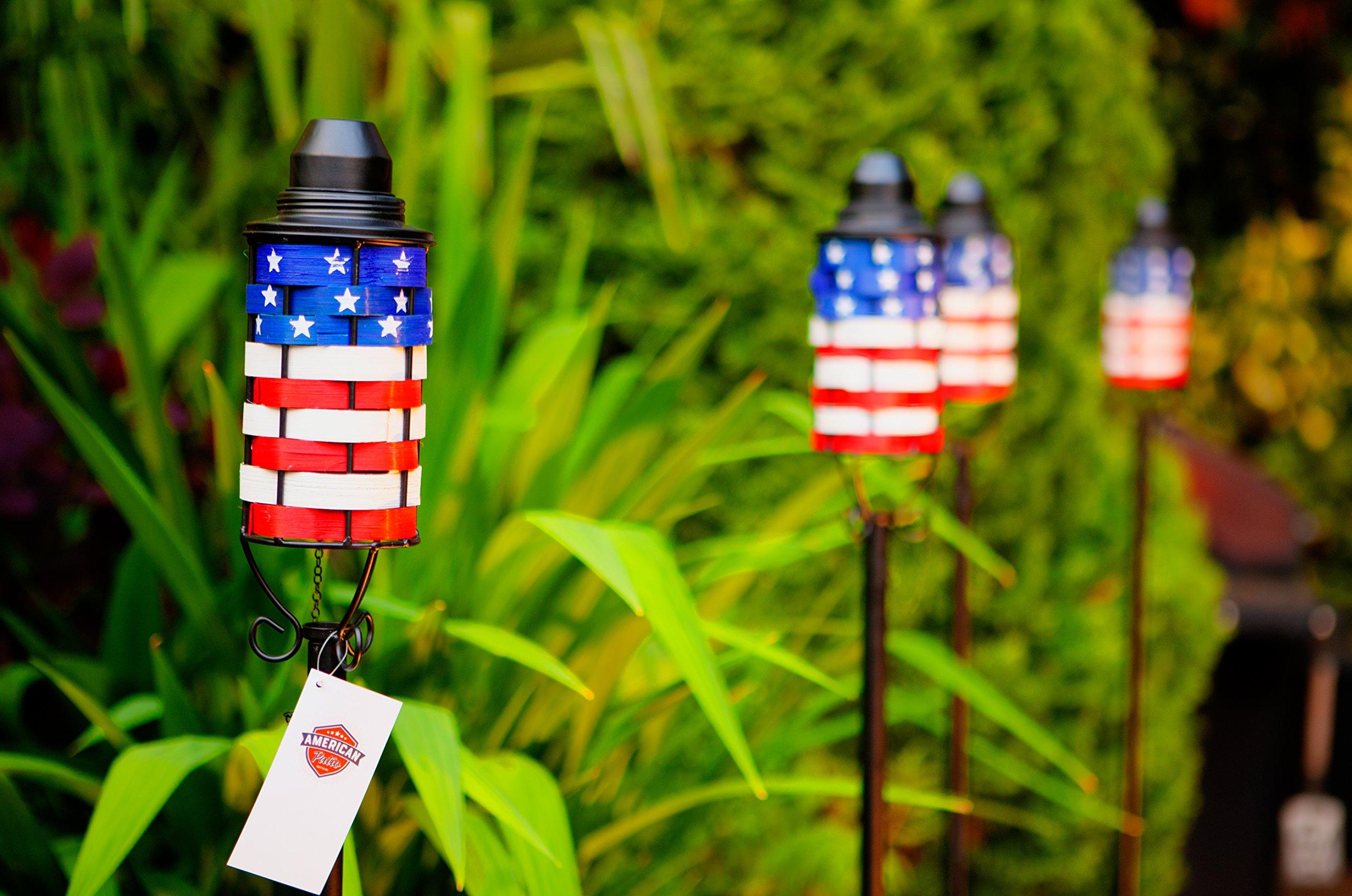 American Patio Patriotic Tiki Torch (4)
