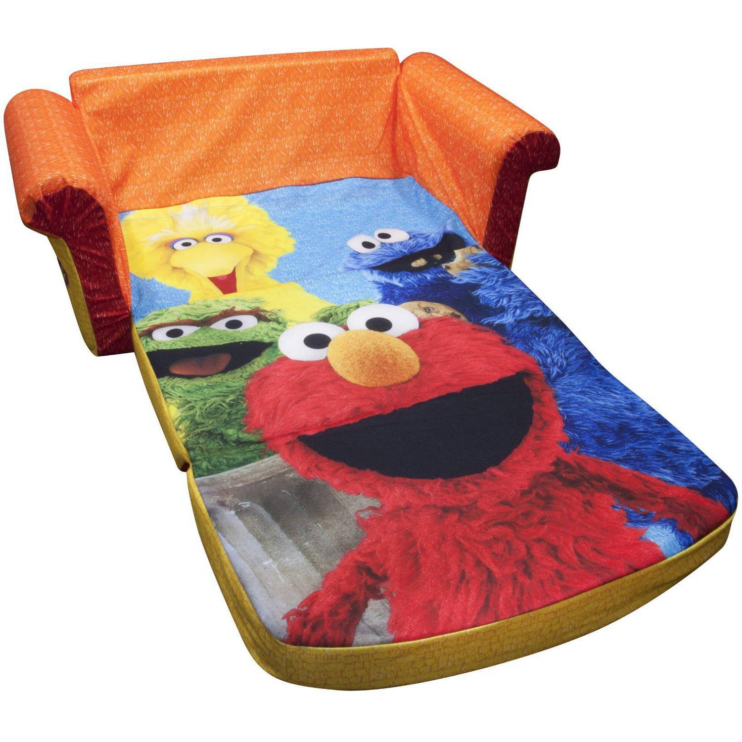 Lovely Amazon.com: Marshmallow 2 In 1 Flip Open Sofa, Sesame Streetu0027s Elmo:  Kitchen U0026 Dining