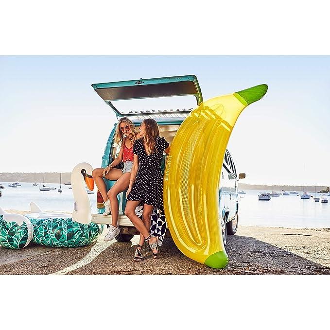 Sunny life S8LLIEBN Flotador Hinchable Platano, Juventud Unisex, Talla única: Amazon.es: Deportes y aire libre